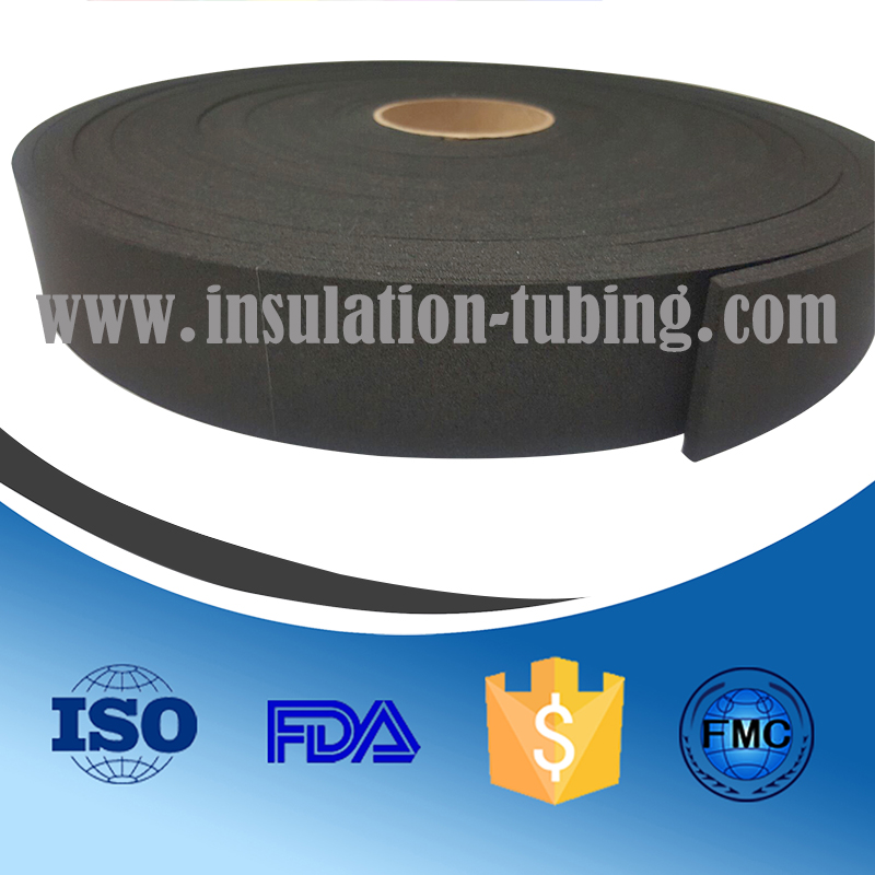 8mm Neoprene EPDM Blend Sponge self adhesive Strip