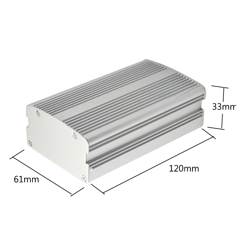 Medical device aluminum electronic enclosure junction box