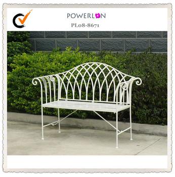Charmant White Folding Metal Garden Bench Wrought Iron High Quality Garden Sofa    Buy High Quality Garden Sofa,Cheap Wrought Iron,Wrought Iron Garden Sofa ...