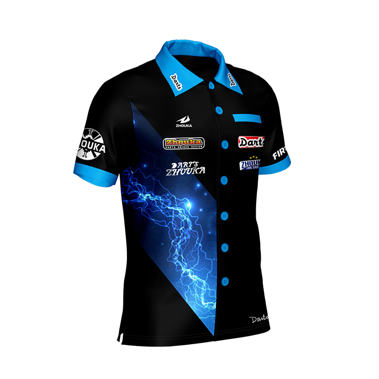 Hot sale sport custom new design 100% polyester man polo dart t-shirt