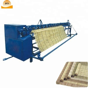 Bamboo reed fence knitting machine reed curtain weaving machine