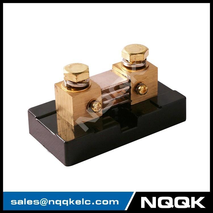 1 FL-US USA type 500A 50mV DC Electric current Shunt Resistors.JPG