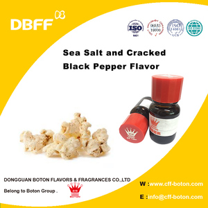Sea Salt and Cracked Black Pepper Flavor