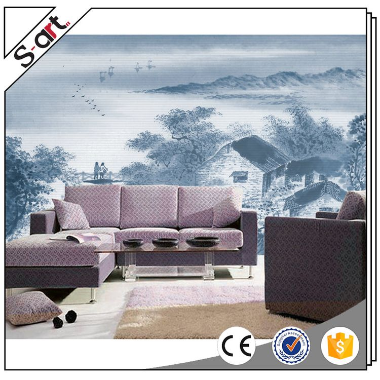 China-made best choice stereoscopic wallpaper murals 3d