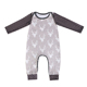 Christmas deer baby clothes kids wear one piece outfit newborn romper