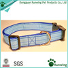 fashion designed beautiful ribbon nylon dog collar