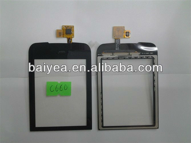 OEM new for LG C660 Optimus pro digitizer touch screen parts
