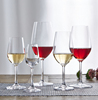 Haonai FDA LFGB approved clear wine goblet glasses crystal wine glass for party