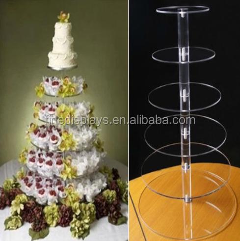 Plexiglass Cake Stand