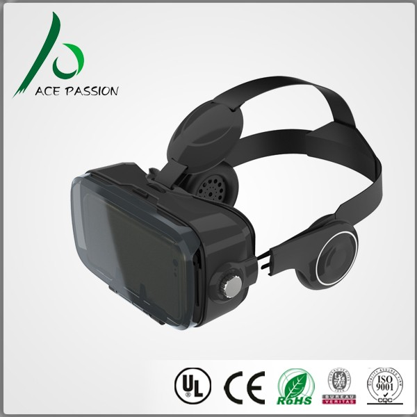 Customized LOGO VR Glasses 3d type Virtual Reality headset