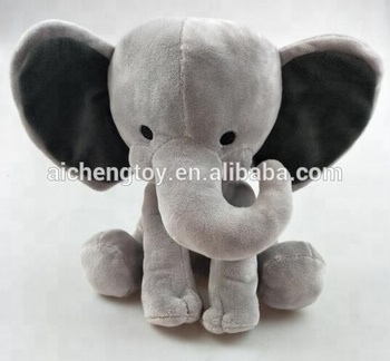 Classic Big Ear 9 Grey Elephant Toys Stuffed Plush Animal