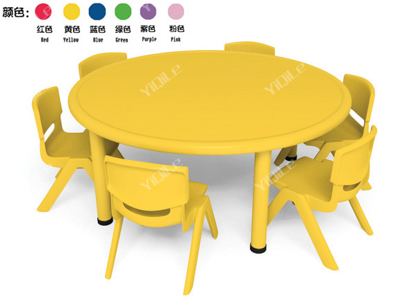 Play School Furnitures Kids Round Table Used Preschool Tables And Chairs