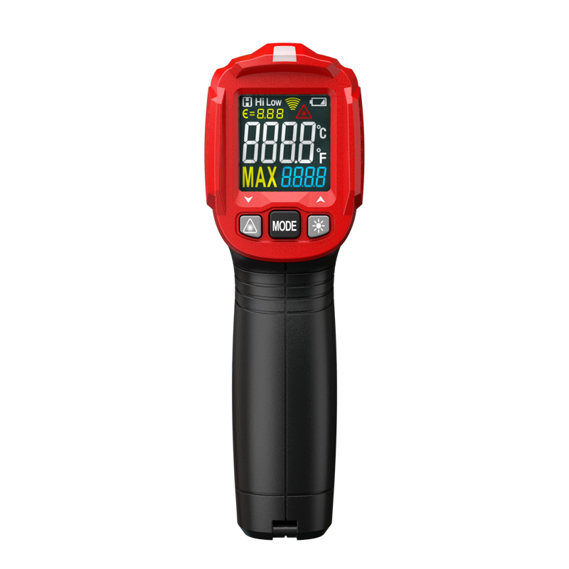 Digital Laser Infrared Thermometer Hygrometer Temperature Sensor with 12 points measurement area - KingCare   KingCare.net
