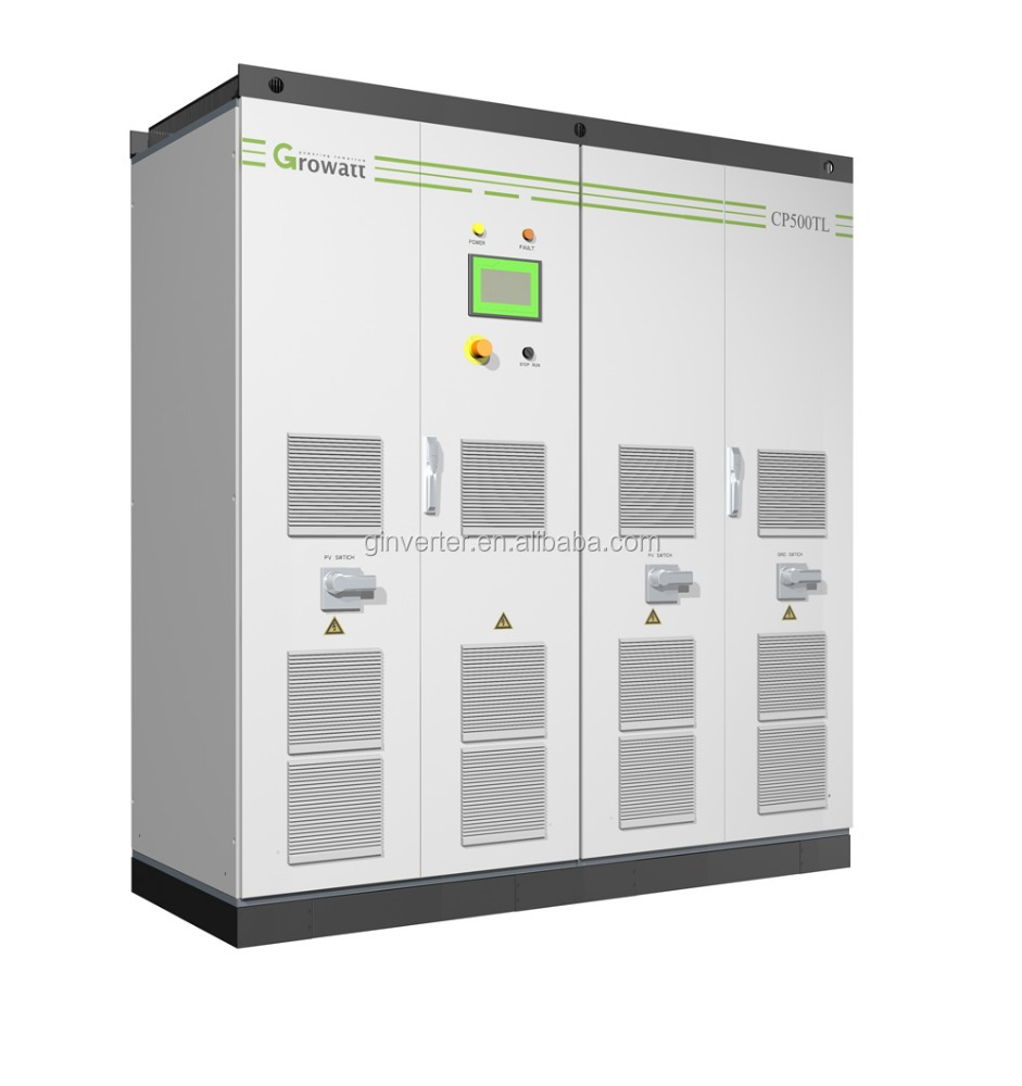 Growatt CP500KW solar on grid tie inverter 500KW solar central inverter