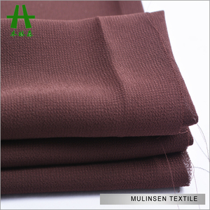 Mulinsen Textile Woven Plain Dyed 75D High Multi High Twist Custom Made Chiffon Color Chart from Pantone