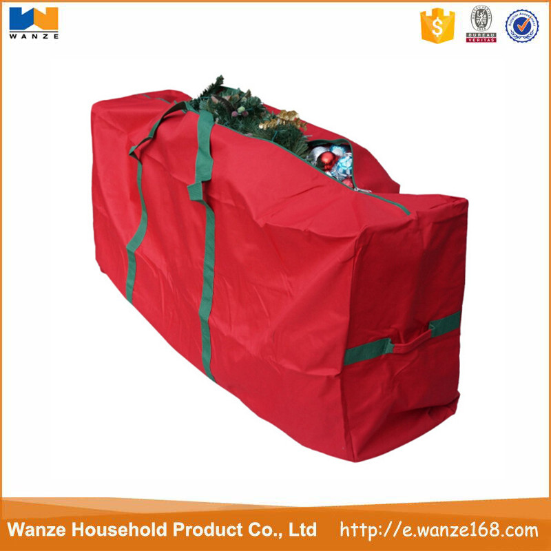 Heavy duty water resistant Christmas tree extra large storage bag with zipper
