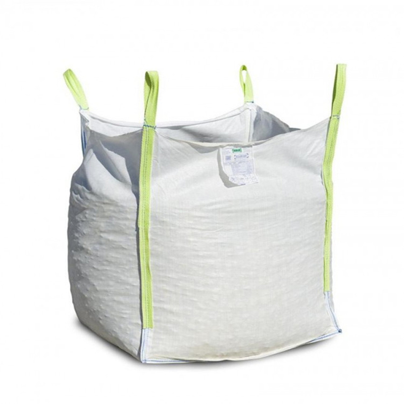 Hot verkoop top open platte bodem big bag 500 kg 750 kg 1 ton 1.5 ton 2 ton bulk bag jumbo bag