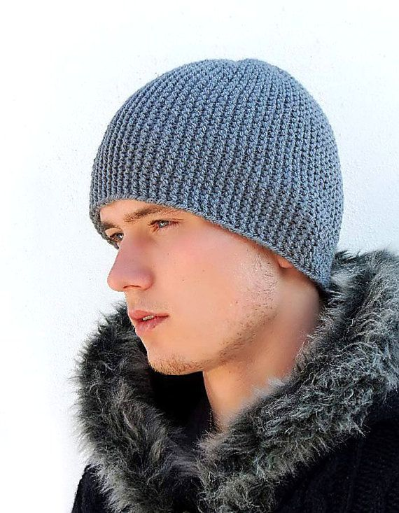 warm cashmere super heavy high quality male beanies