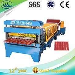 Good quality and price automatic roof panel curving machine roll forming machine