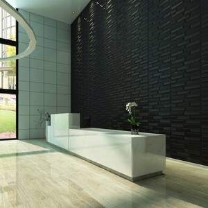 natural material 3d wall tile sticker