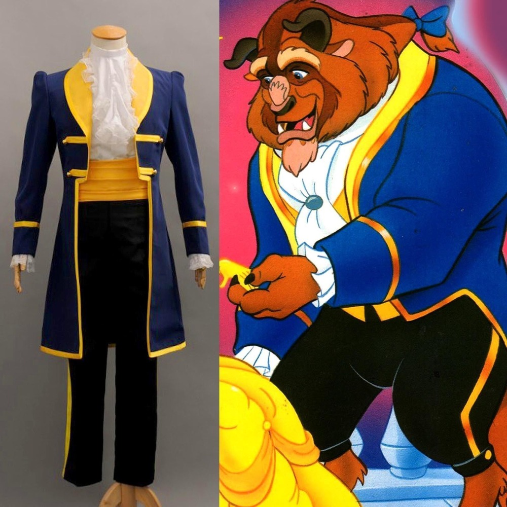 Beauty And The Beast Prince Adam Cosplay Costume Jacket