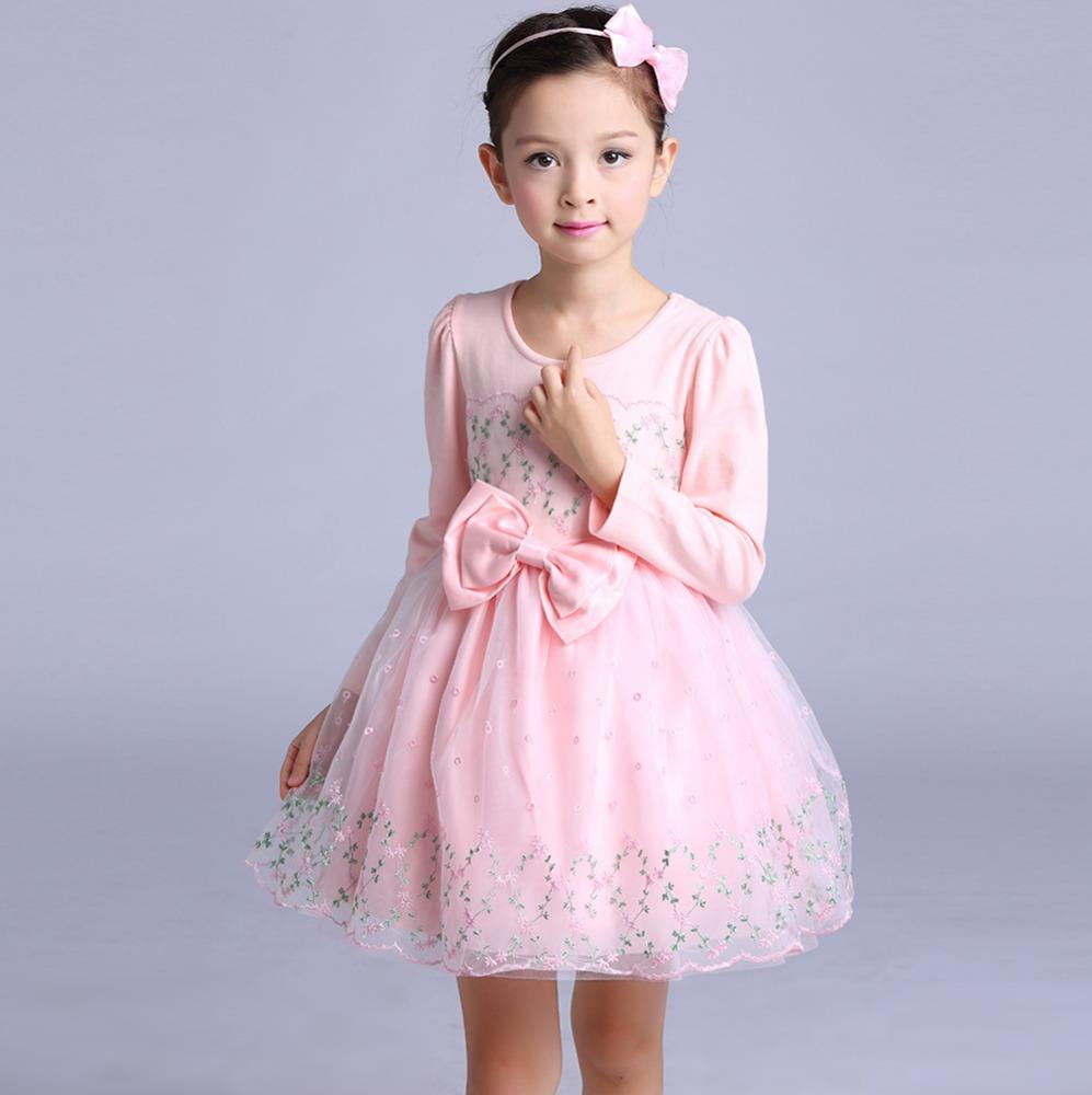 Venta al por mayor vestidos de 7 años de niña-Compre online los ...