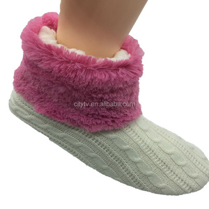 Winter Indoor Cozy Slipper Boots For Women