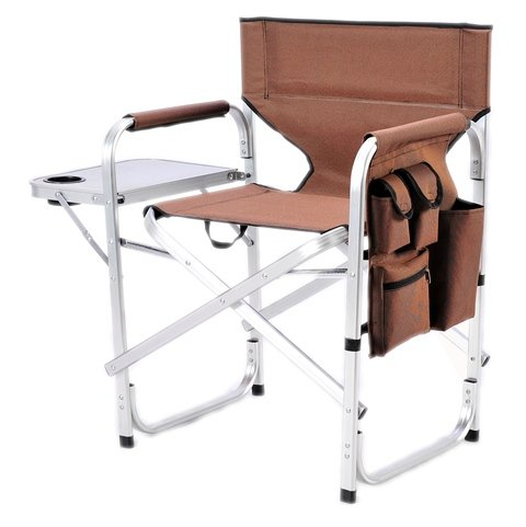 Coffee Folding Camp and Beach Dir Chair