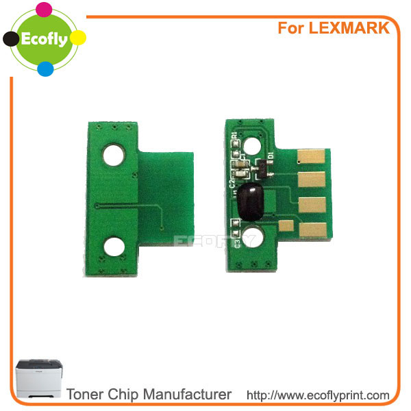 toner chip for Lexmark CX310 CX410 CX510 toner chip resetter