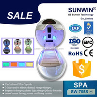summer new red Far infrared spa capsule slimming beauty equipment/detox products