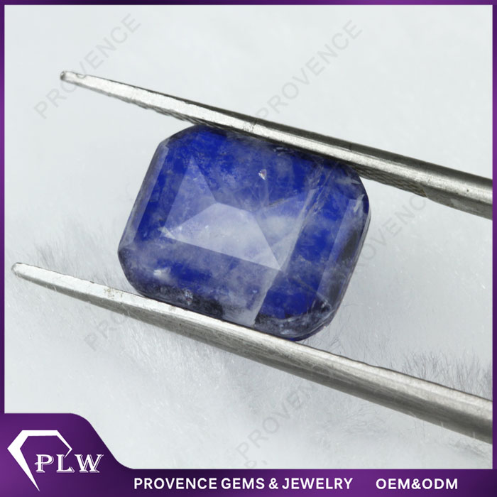 Wonderful Synthetic Blue Sapphire stone price per carat with Wholesale price