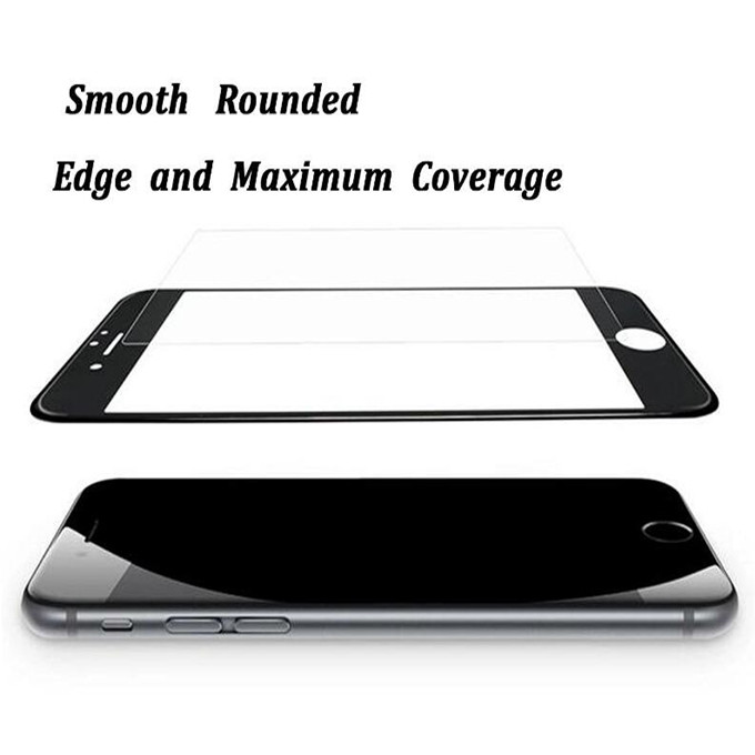 Low Price High Quality Full Cover Carbon Fiber Tempered Glass Screen Protector for Huawei Honor V10/V9 Play/6x/7x