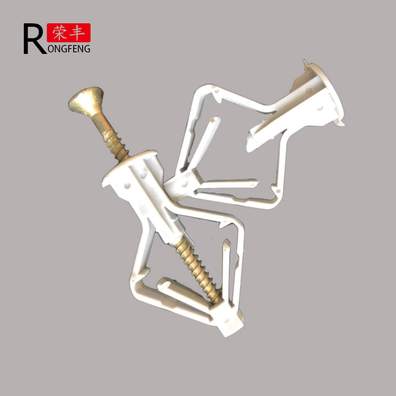 Plastic  winged butterfly  anchor Plastic screw anchor