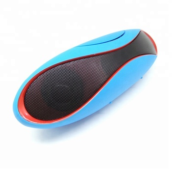 Commercial football shape wireless speakers with TF and FM function