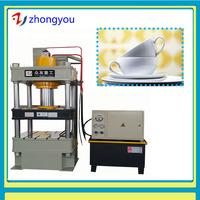YQ32 hydraulic tableware melamine dinner set making machine 300ton