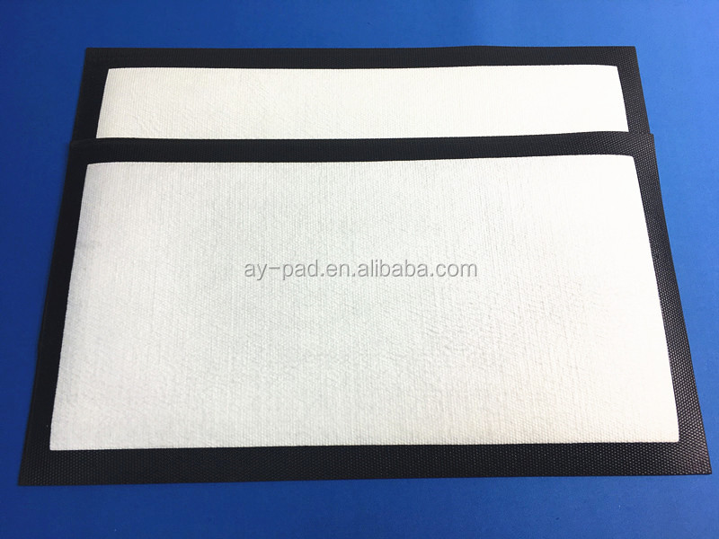 AY 45x25cm nitrile rubber bar beer drip mat blank bar mat for sublimation