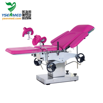YSOT-2C Medical Obstetric Bed Manual Gynaecology Examination Table With CE