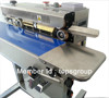 Continous heat sealer for plastic bands