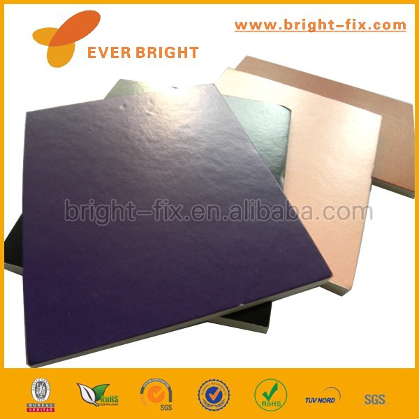 two sides blackcard foam board black core KT board for building mould