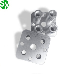 OEM made aluminium faceplate 5-axis cnc milling drawing parts