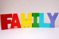 hot sales wooden block letters for kids