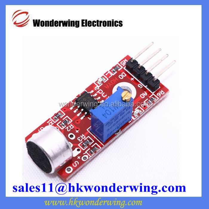 Microphone Sensor Module KY-037 High Sensitivity Sound Detection Module For Arduino AVR PIC