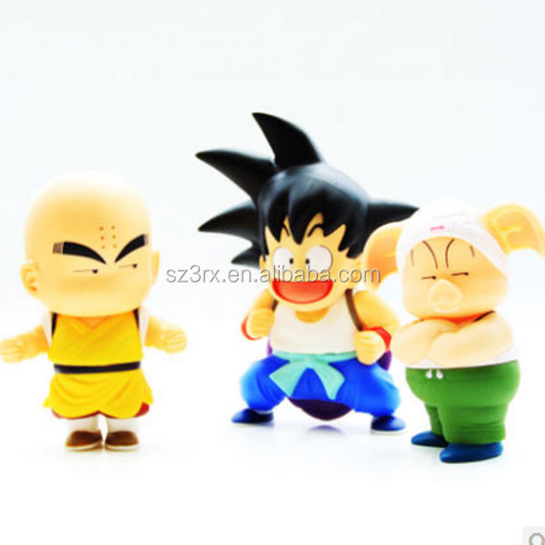 hot sale z goku figure toy plastic dragon ball z