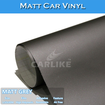 Sino Sticker Top Quality Satin Matt Grey Color Change Wrap Sticker - Where to buy stickers for cars