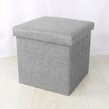 Foldable Square Ottoman Stool Collection Bins Foot Rest Stool Chairs Cube  Storage Stool