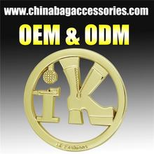 CR-MLD697_Metal bag accessories label tag Multifunctional fasteners for clothes zamak label