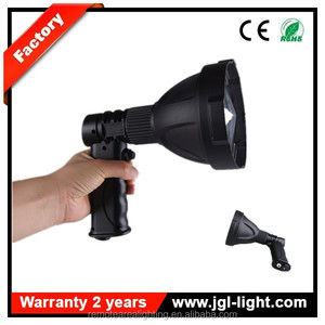 Green and red filter available 4.5H long working time portable handheld spotlight NFC96-25W best rechargeable led spotlight