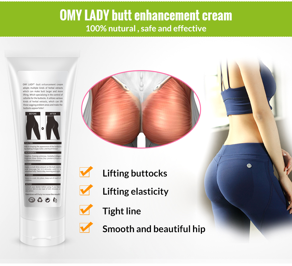 OMY LADY Hip Lift Massage Big Buttock Enlargement Cream For Women