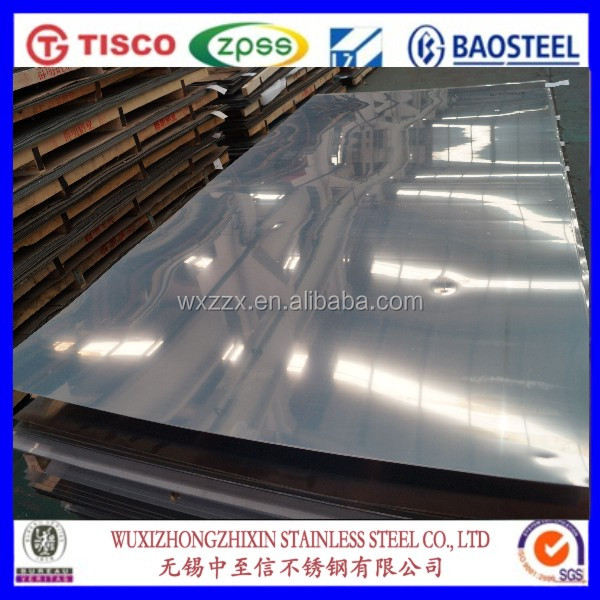 corrugated plastic roofing sheet 410 stainless steel plate with high density pvc sheet for construction
