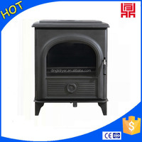 Noble and elegant wood pellets fuel heating stove insert with CE passed